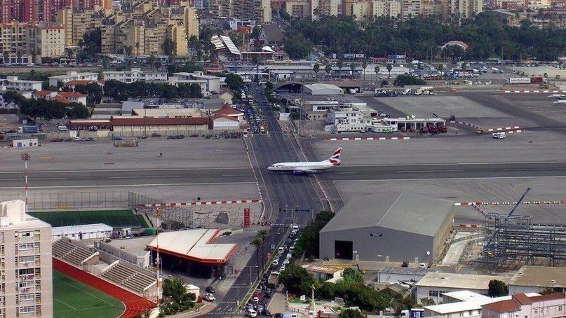 pearl one news Gibraltar International Airport