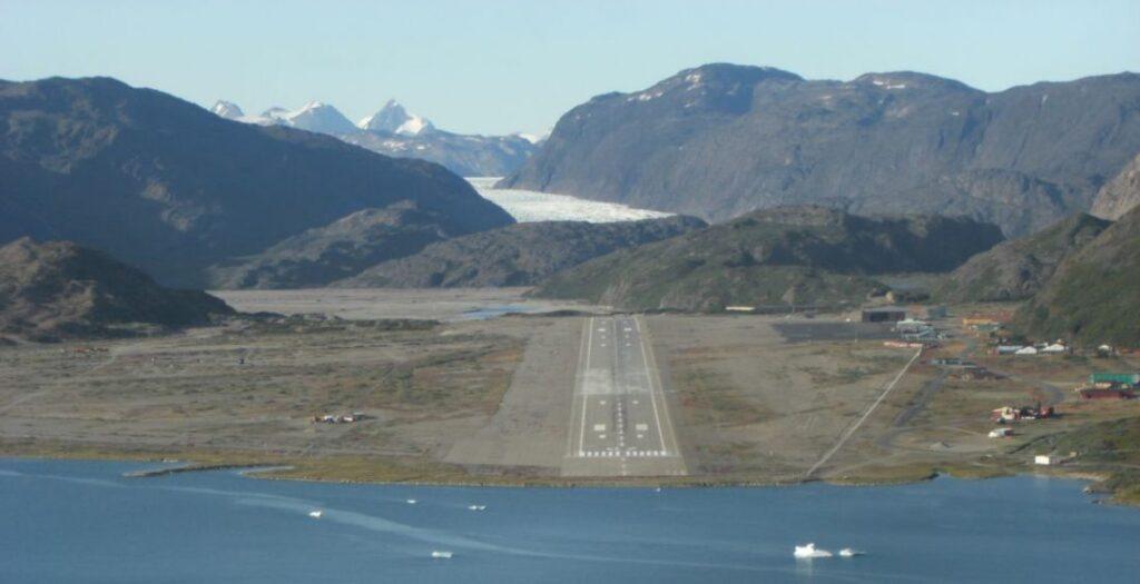 pearl one news Narsarsuaq Airport