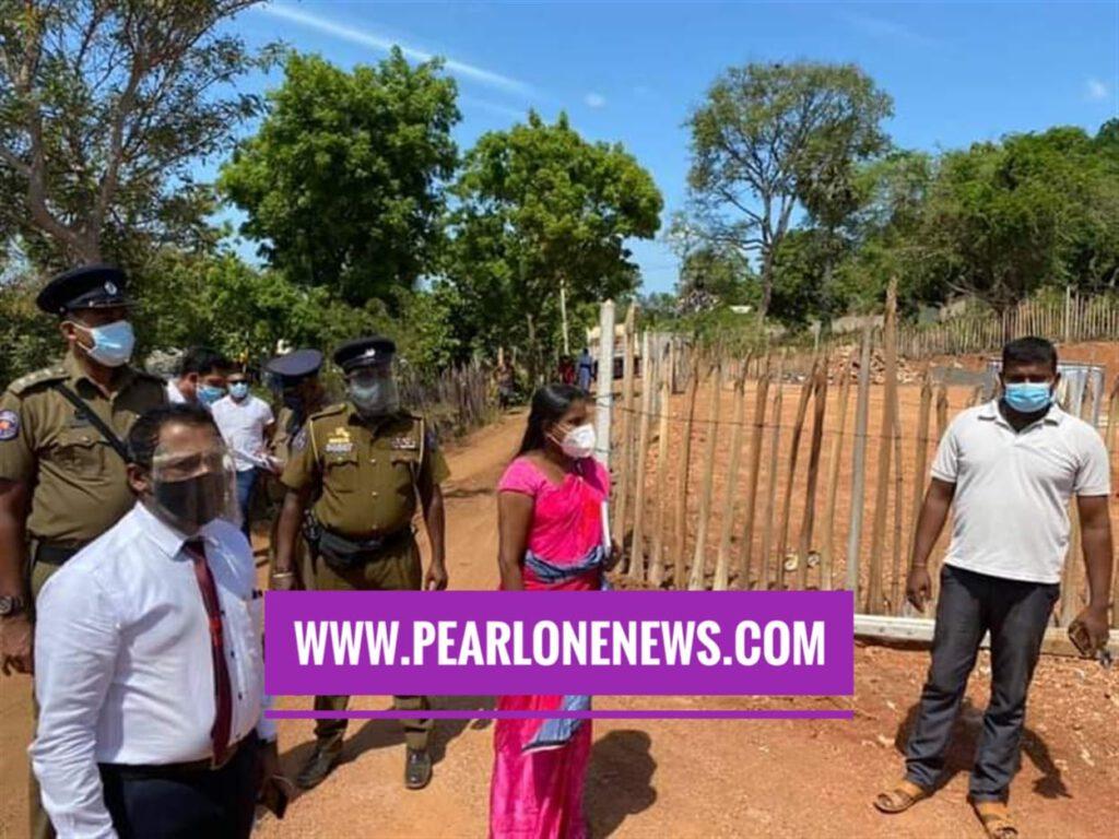 pearlonenews இலுப்பைக் குளம் பிரதேசத்தில் கிரவல் அகழ்வை தற்காலிகமாக நிறுத்தல்