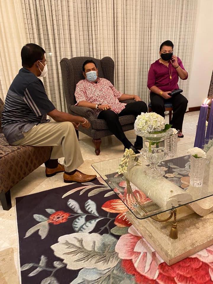 pearl one news மஹிந்த ரணில் சந்திப்பு1