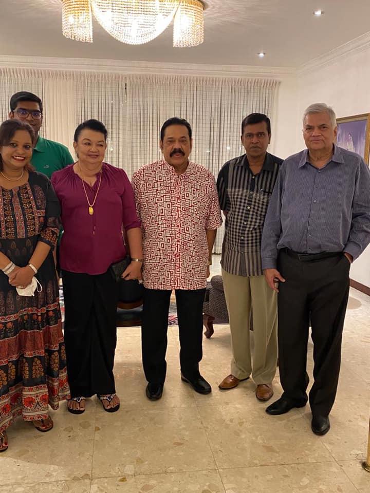 pearl one news மஹிந்த ரணில் சந்திப்பு2