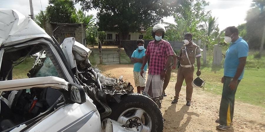 pearl one news vavuniya accident1